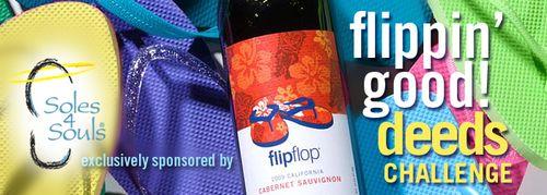 Support Soles4Souls' Flippin' Good Deeds Challenge
