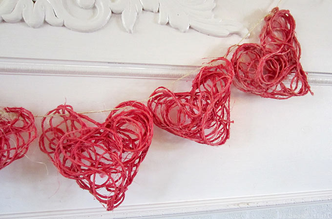 Intertwined Hearts: Our most popular Kids Craft of all time! Our super cute twine hearts are the perfect sensory activity for little hands and can be modified for every season.