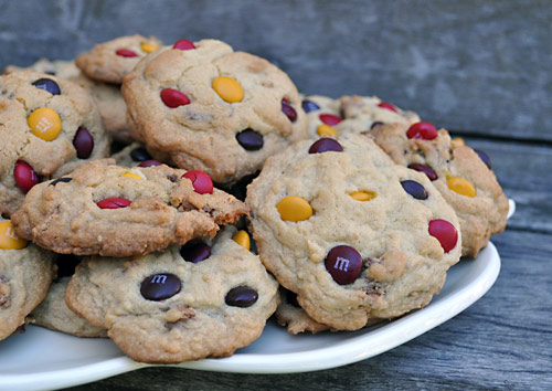 Chewy Caramel Mystery Cookies: Leftover Candy Cookies