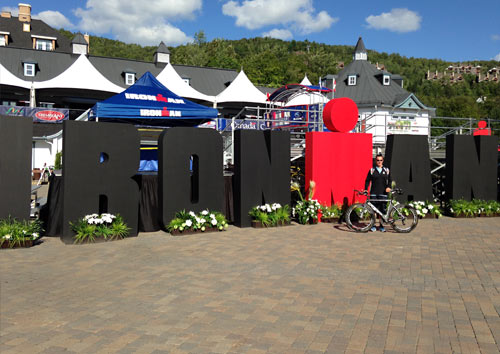 Ironman Mont Tremblant (IMMT) – Race Week Report (for Spectators)