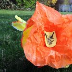 Kid's Craft: Coffee Filter Lion