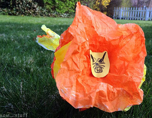 Coffee Filter Lion Craft For Kids