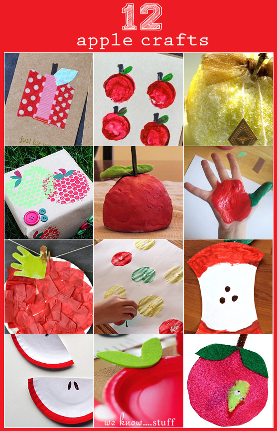 We have collected 12 Awesome Apple Crafts for kids that you and your children can create together. These craft ideas also make great classroom activities.