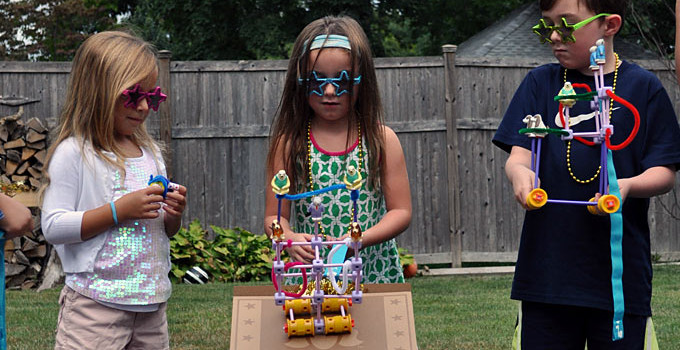 STEM-time Fun At Our GoldieBlox Bash & A Giveaway Too!