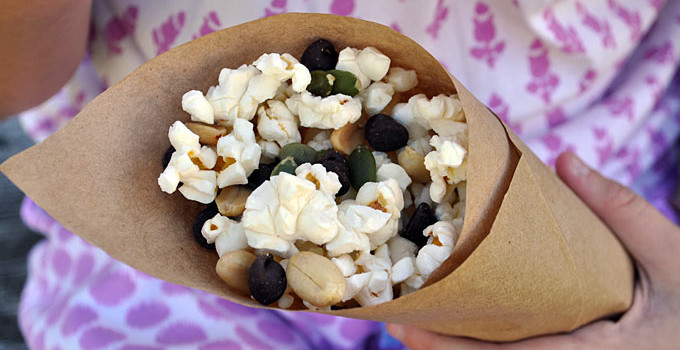 Healthy Snacking with Popcorn Trail Mix