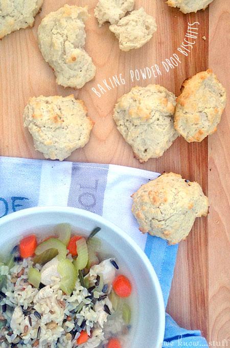 Baking Powder Drop Biscuits - we know stuff