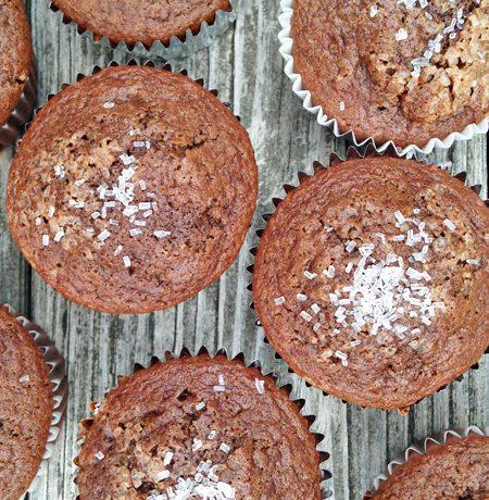 Chocolate Zucchini Quinoa Muffins