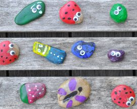 Painted Nature Rocks
