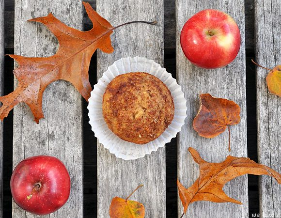 Apple Flaxseed Muffins