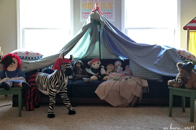 Rainy Day Fun Blanket Forts For Kids We Know Stuff