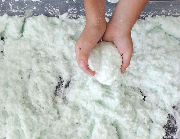 How To Make Fake Snow For Kids