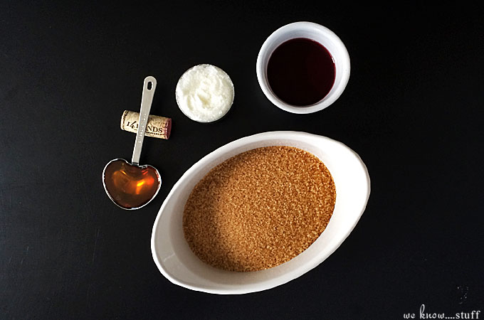 This Red Wine Body Scrub is a great way to use up leftover wine. Made with turbinado sugar and coconut oil, you're skin will be baby soft after you use it!
