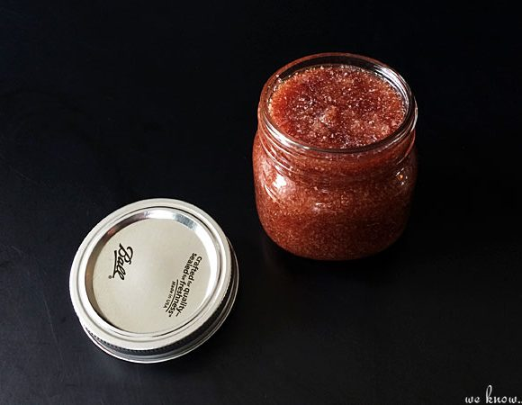 Red Wine Body Scrub