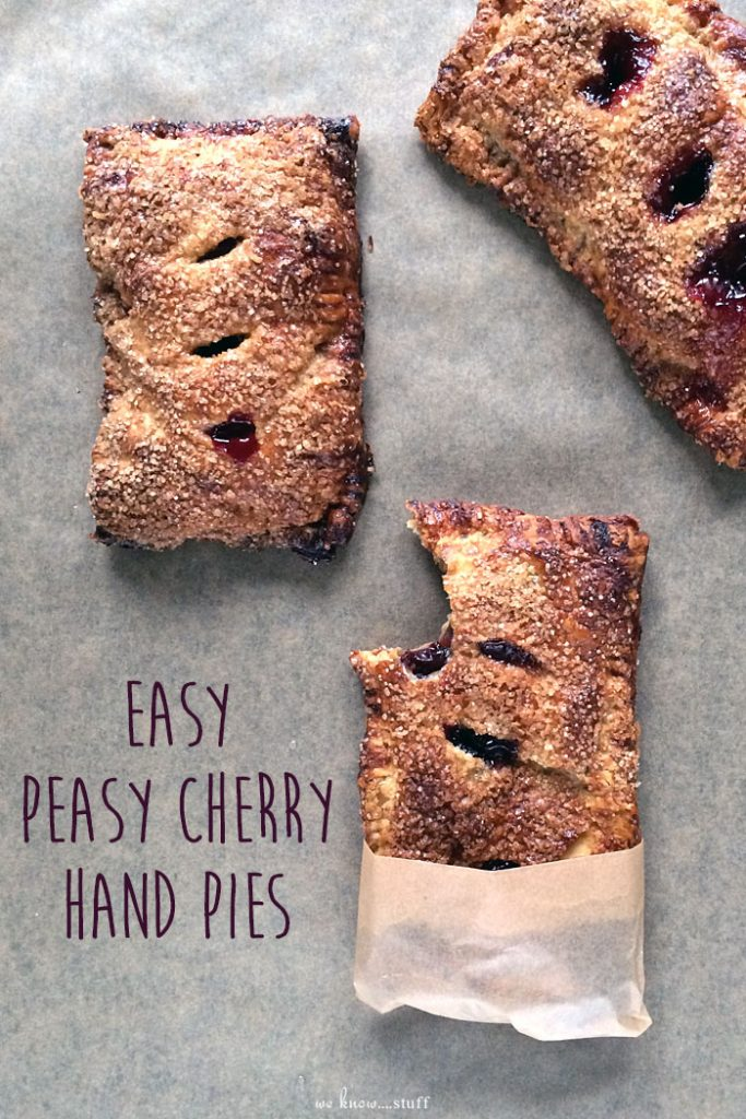 Did you know February is National Cherry Month? So let's make our tasty Cherry Hand Pies Recipe with our homemade, dye-free, cherry pie filling! Yum!