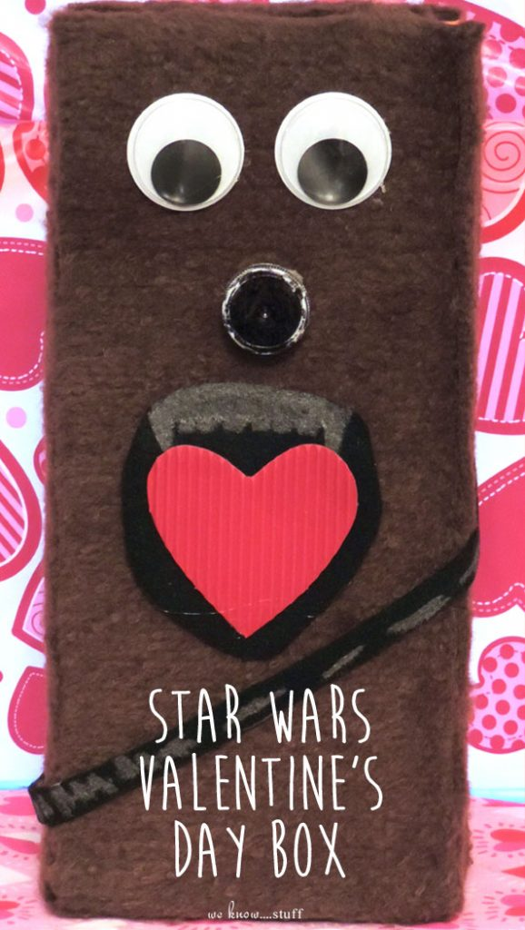 Are You Looking For More Star Wars Kids Crafts? This Adorable Chewbacca  Valentineu0027s Day Box