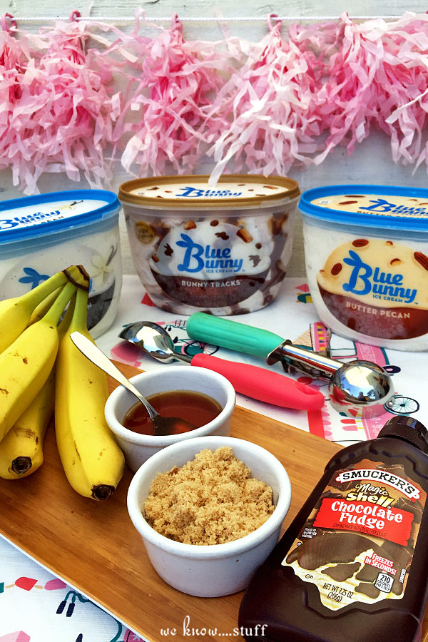 Smooshy Mushy Banana Split : Unschedule Your Summer with Grilled Banana Splits
