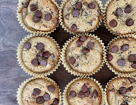 Nut Butter Muffins (Banana Protein Bombs)