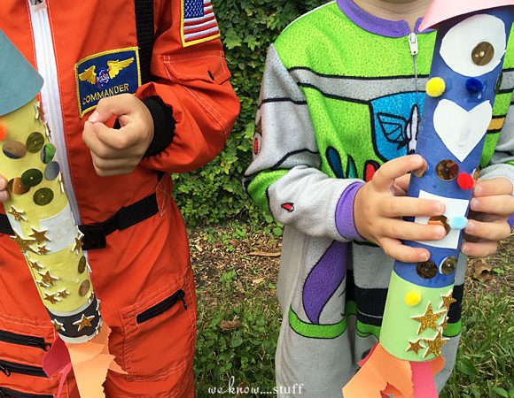 Paper Towel Roll Rockets: A Creative Play Activity For Kids