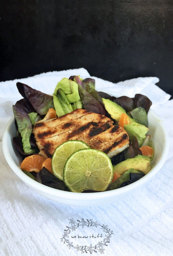 This quick and easy 7UP marinade for grilled chicken salad recipe is perfect for lunch or an easy dinner. This simple salad recipe can be made in minutes.