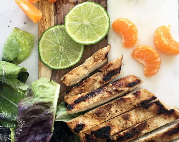 7UP Marinade for Grilled Chicken Salad