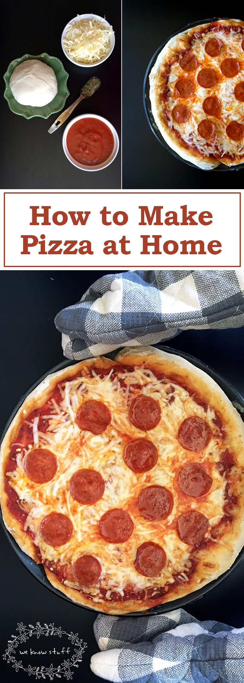 Learn How To Make Pizza At Home. Ready in just under thirty minutes, this stress-free recipe just uses pizza dough from your favorite pizza place.