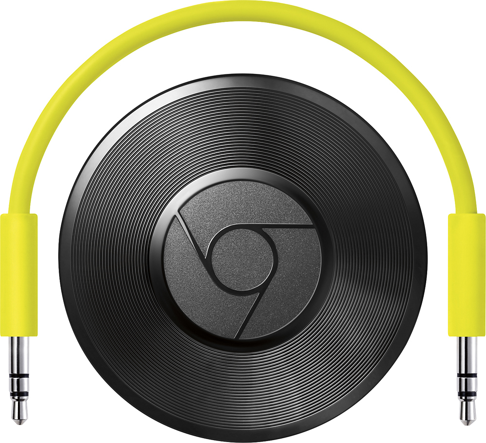 Google Chromecast Audio: Stream millions of songs, radio stations & podcasts over WiFi via apps like Pandora, Spotify, YouTube Music, & Google Play Music.
