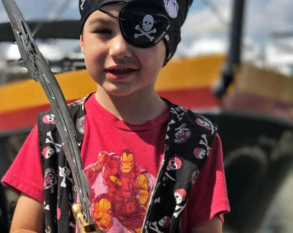A Bluefoot Pirate Adventure: Set Sail On A Pirate Ship