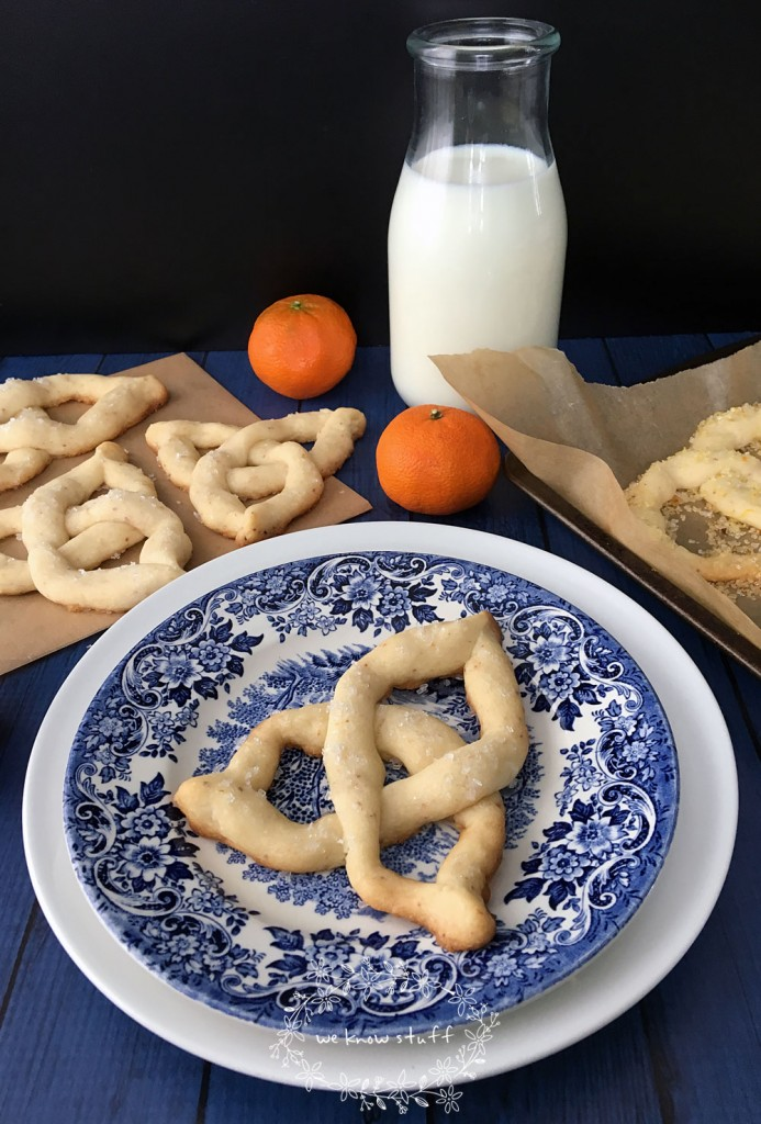 Are you looking for some tasty Saint Patrick's Day Cookies? Our Citrus Celtic Knot Cookies keep little hands busy as they bend shortbread dough into shapes!