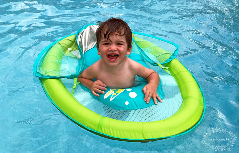 Swimways Baby Spring Float With Canopy National Learn To