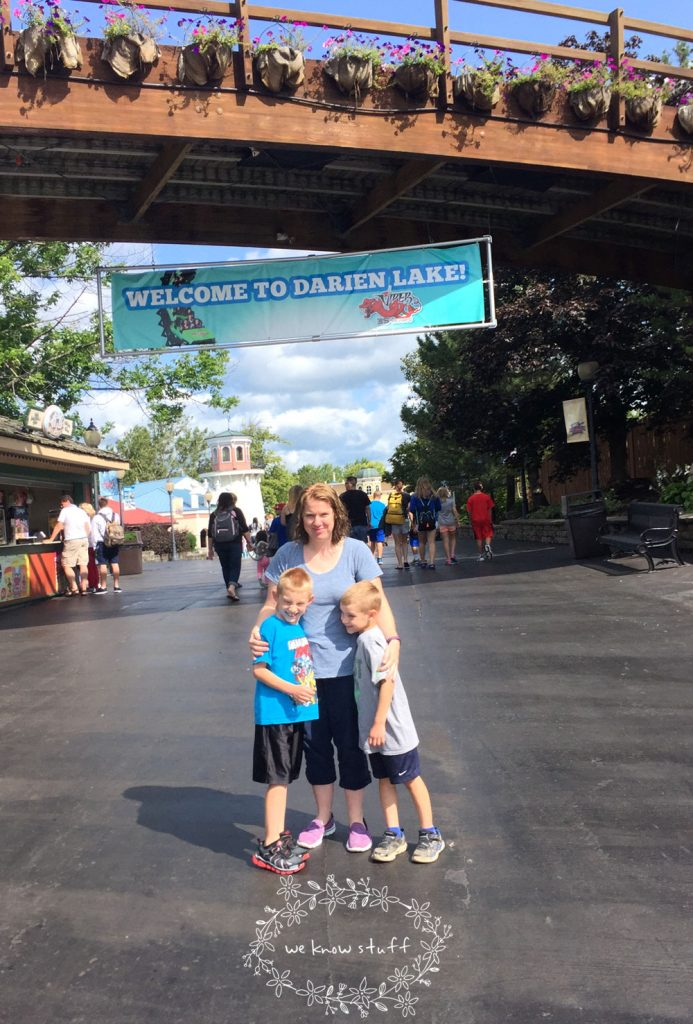 Darien Lake Amusement Park is a popular destination esp for families in New York with 45 attractions, a 10-acre water park, and live entertainment options.