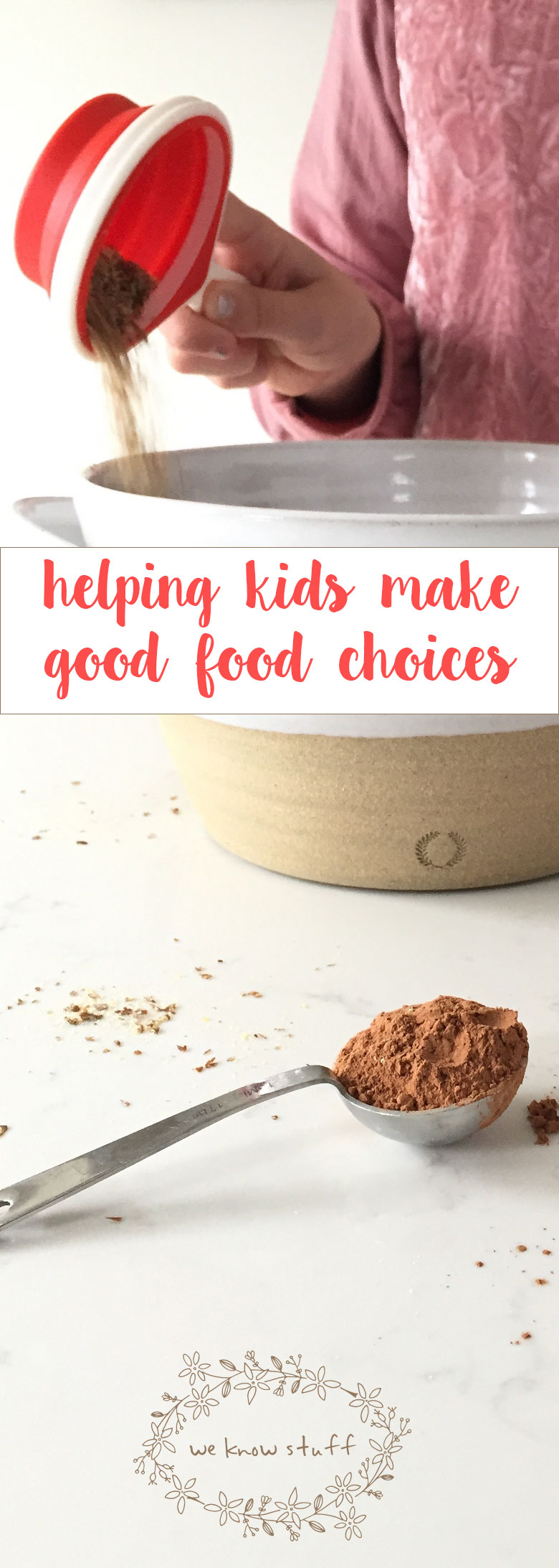 Learn how teaching kidsmake good choices can improve their diet this holiday season.