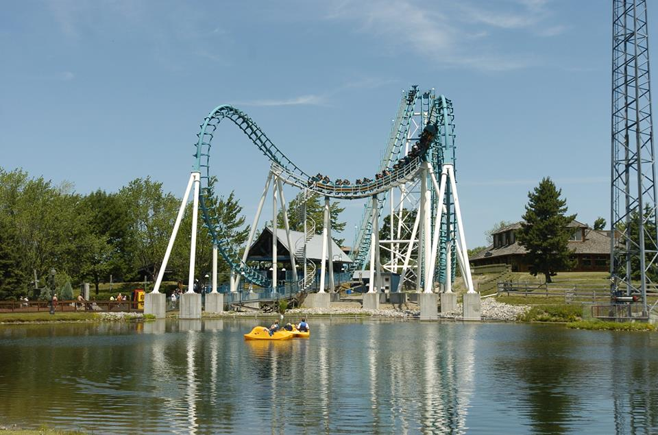 Darien Lake Amusement Park is a popular destination esp for families in New York with 45 attractions, a 10-acre water park, and live entertainment options. Photo courtesy of Darien Lake.