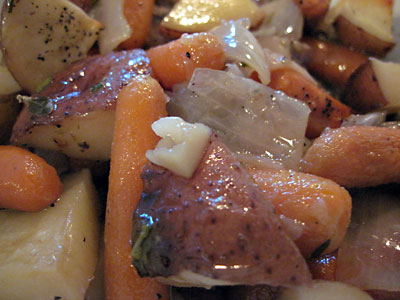how to make gravy from roast chicken pan juices