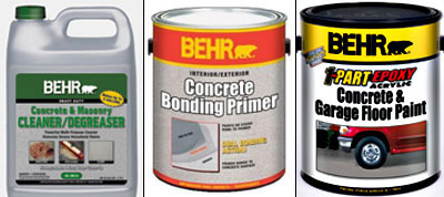 Home Depot, BEHR paints