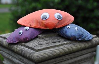 Kids Craft: Clam Shell Friends, www.weknowstuff.us.com