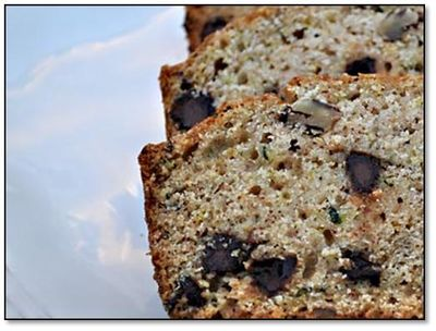 Chocolate Chip Zucchini Bread, http://www.weknowstuff.us.com