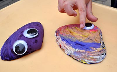Kids Craft: Clam Shell Friends, www.weknowstuff.us.com