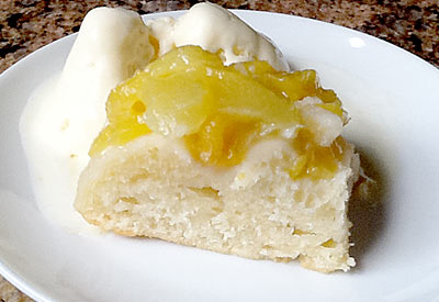Peach cobbler, www.weknowstuff.us.com
