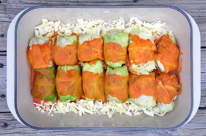 Galumpkis Stuffed Cabbage are a delicious addition to your tried and true recipes. An old family favorite, this dish is perfect for chilly nights!They are also called Gołąbki,Golumpki,Gwumpki, Golabki, and evenHalupki in Slovak areas!