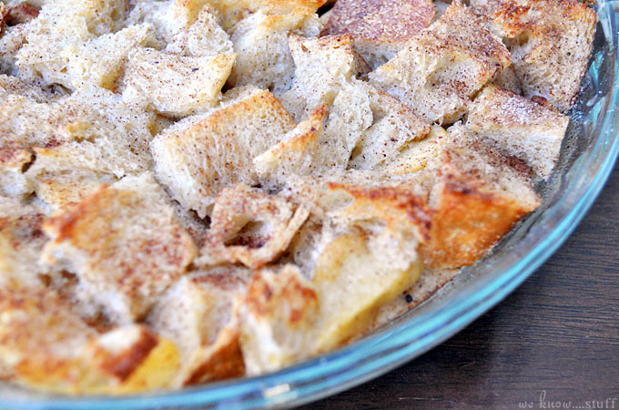 Our apple cinnamon bread pudding recipe is a quick and easy dessert to make. Pile our homemade whipped cream recipe on top for a truly amazing dessert idea!