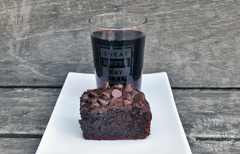 Did you know that you can bake with beer? Well, it's true – and the results are often delicious as seen with this chocolate stout brownies recipe. They're perfect for Saint Patrick's Day!