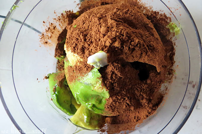 Avocado Chocolate Peanut Butter Mousse
