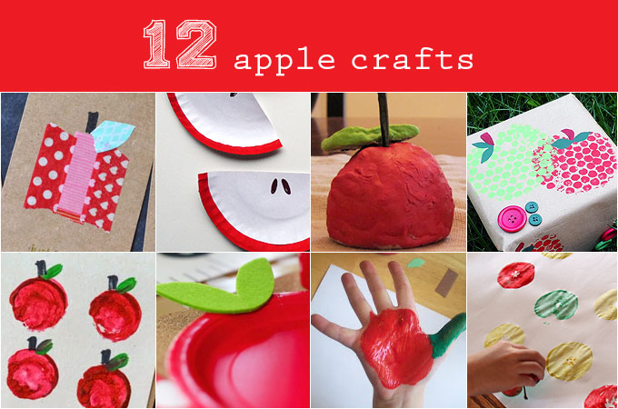 12 Awesome Apple Crafts For Kids Back To School Fun