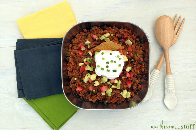 The Best Crockpot Chili is also known among our family and friends as Brennan's Slow Cooker Chili Recipe. My husband worked hard on perfecting it and it's delicious!