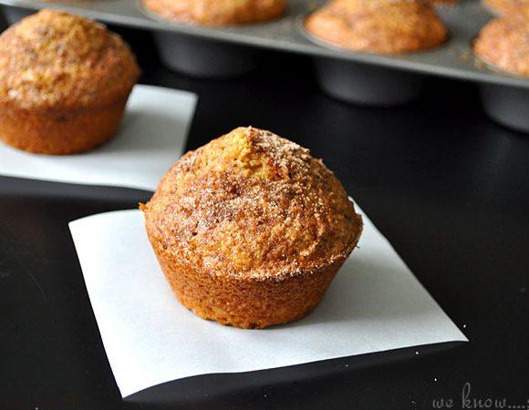 Healthier Pumpkin Muffins, www.weknowstuff.us.com