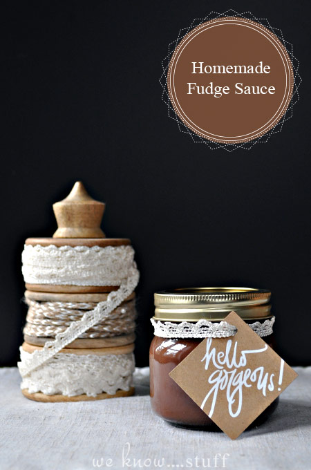 This Easy Hot Fudge Sauce Recipe is best when it's made a few days ahead of time. Store in the fridge until needed so the fudge sauce can thicken up.