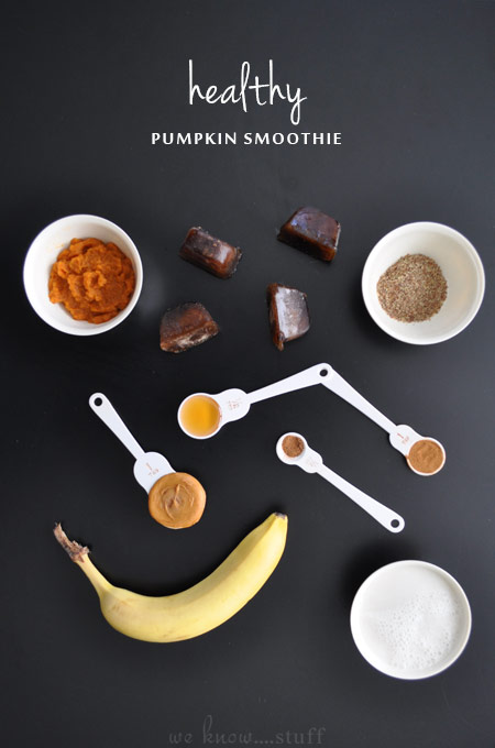This healthy pumpkin smoothie recipe is an easy way to start your day. Using Libby's canned pumpkin you can quickly blend up the perfect fall breakfast.
