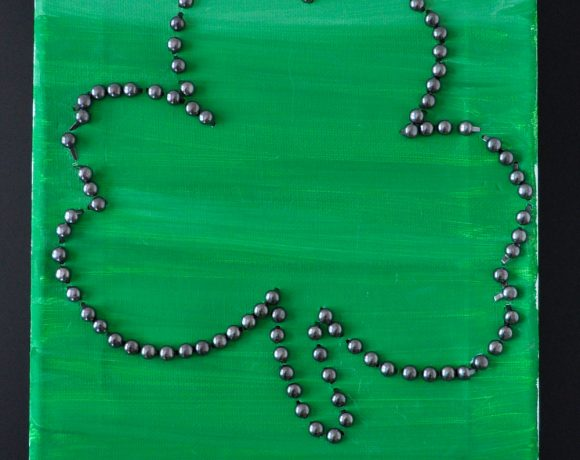 Celebrate The Luck Of The Irish With This Fantastic Shamrock Craft