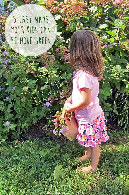 5 Simple Ways Your Kids Can Be More Green. Earth Day Tips. Being green doesn't have to be hard. With just a few simple changes, you can change the world!