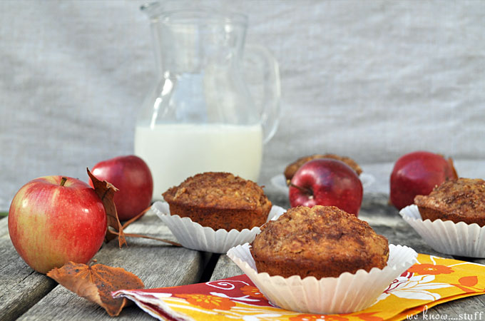Our Apple Flaxseed Muffins are a tasty way to use up apples that are starting to turn brown. I love recipes that use Almond Milk, so I try to add it whenever I can.